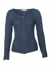 Dickins & Jones Blue Chunky Knit Cardigan RRP £85 House of Fraser - Free UK Ship