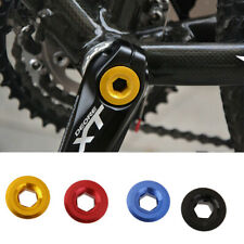 MTB Bike Bicycle Cycle Anodized Arm Fixing Bolt Crank Chainset Screw Chain Axis