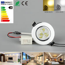 Indoor 9W LED Recessed Ceiling Light Downlight Spot Warm Cool Lamp Wall Bulb