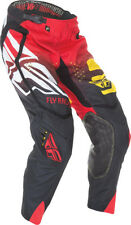 Fly Racing Evolution 2.0 Code Pant Black/Red/Yellow 9 Adult Sizes