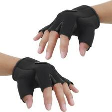 Outdoor Sports Cycling Bicycle Bike Half Finger Fingerless Gloves