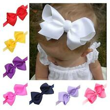 Kids Girls Baby Toddler Infant Bow Headband Hair Lovely Bowknot Band Accessories