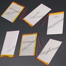 3.7V Polymer Battery 50mAh-8000mAh W/ PCM Rechargeable for GPS ipod Tablet PC