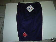 NEW MENS MAJESTIC BOSTON RED SOX NAVY SHORTS  SIZE S