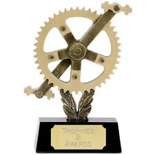 """CYCLING Sproket Trophy FREE ENGRAVING 2 Sizes 6"""" or 8"""" Road Cycle Race Sportive"""
