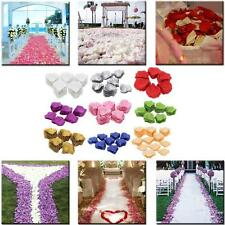 1000 PCS Romantic Vivid Artificial Wedding Simulation Rose Flower Petals G1AO