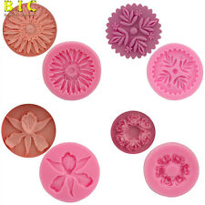 3D Flower Silicone Mould Fondant Cake Decorating Chocolate Sugarcraft Mold Tools