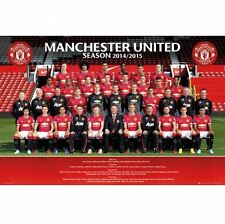 Manchester United FC Poster Squad 84 Football Soccer EPL
