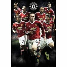 Manchester United FC Poster Players 114 Football Soccer EPL Wall Picture