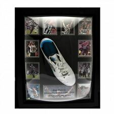 Newcastle United FC Shearer Signed Boot Framed Football Soccer Memorabilia