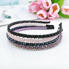 Vintage Women's Sexy Chic Bead Crystal Head Headband Head Piece Hair Band Gift