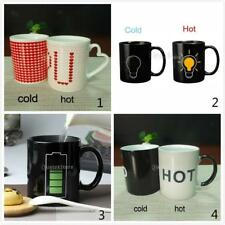 Creative Ceramic Color Changing Heat Sensitive Reactive Mug Tea Milk Coffee Cup