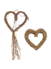 Gisela Graham Natural Twig Heart Wreath Home Decoration Easter Christmas Wedding
