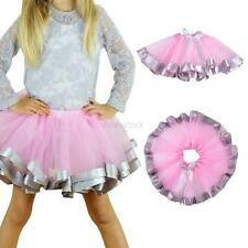 New Summer Baby Kids Girls Tulle Wedding Dacing Tutu Skirt Ballet Costume 4-9Y