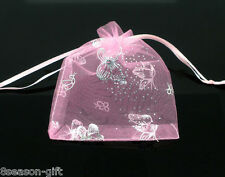 Gift Wholesale 7x9cm Drawable Organza Wedding Gift Bags&Pouches