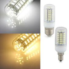 E27/E14 3.5/4/5/6/7W LED Corn Light SMD3528 Bulb Warm/White Energy Saving Cover