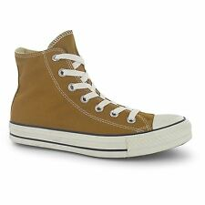 Converse All Star Hi Top Casual Trainers Womens Buckthorn Brown Sneakers Shoes