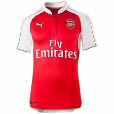 Puma Arsenal FC Home Jersey 2015 2016 Juniors Red/White EPL Football Soccer