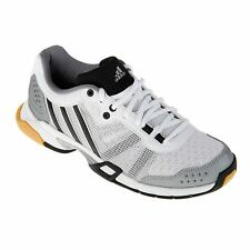 Adidas Volley Team Indoor Court Shoes Womens White/Blk Tennis Fitness Gym Shoes