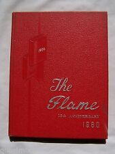 1960 MOON HIGH SCHOOL YEARBOOK MOON TOWNSHIP, PENNSYLVANIA  THE FLAME