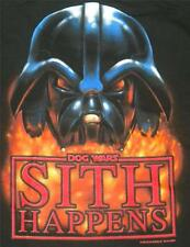 Big Dogs Tee Shirt Star Wars Sith Happens NEW M XL 2X 3X Black Darth Vader