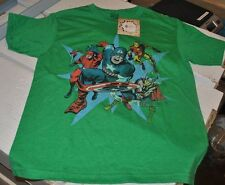 Marvel Avengers Kids Green T-Shirt / Mad Engine / Captain America / Iron Man