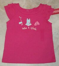 NWT Gymboree Floral Reef Make A Splash Flutter Tee Top Toddler U Pick Sz NEW