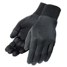 Tourmaster 100% Silk Glove Liners - Black - 4 Sizes Available