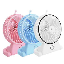 Portable 1865 Battery Rechargeable USB Mini Cooling Water Misting Humidifier Fan