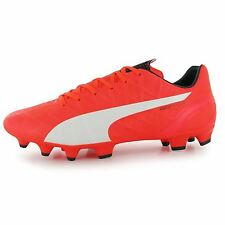Puma evoSpeed 4 FG Firm Ground Football Boots Mens Lava Blast Soccer Boot Cleats