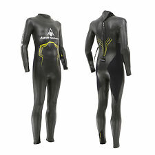 New! Aqua Sphere 2016 RAGE Youths Triathlon Wetsuit Open Water Swim Age 10-14yrs