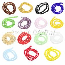 72Pcs Wholesale 8mm Rondelle Faceted Crystal Glass Spacer Loose Beads Findings