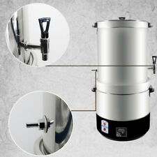 8M 220V Stainless Steel Homebrew Stockpot Boil Kettle Mash Tun Beer Wine Brewing