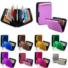 Mens Womens Credit ID Bank Business Card Holder Case Pocket Wallet Purse New