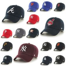47´BRAND CAP MLB BASEBALL HAT SNAPBACK YANKEES GIANTS CURVED ADJUSTABLE
