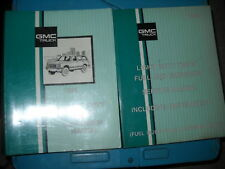 1991 GMC Light Duty Truck Models Unit Service Shop Repair Workshop Manual Set