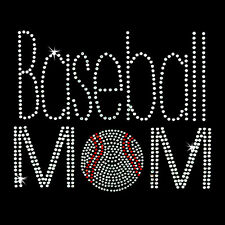 Rhinestone Transfer - Hot Fix Motif - Sports/Band Mom 18 Designs