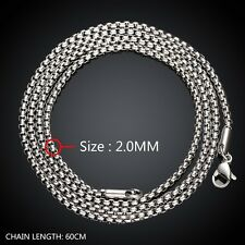 Chain Mens Bracelet Men's Bangle Curb Link Heavy Silver Tone Stainless Steel