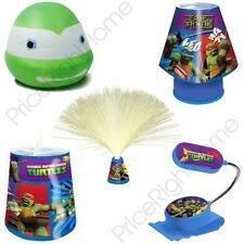 TEENAGE MUTANT NINJA TURTLES KIDS BEDROOM LIGHTING LAMP, ILLUMIMATE, MOOD LIGHT