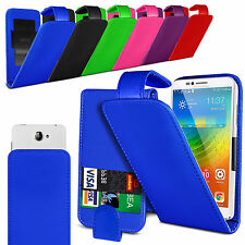 Clip On PU Leather Flip Case Cover Pouch For HTC Sensation XE