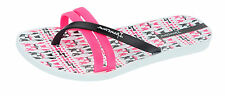 Ipanema Flip Print Womens Flip Flops / Sandals - White Pink Black - 81806
