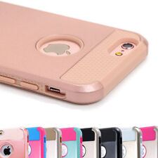 Shockproof Hybrid Armor Rugged Rubber Hard Phone Case Cover For Apple iPhone