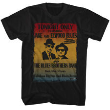 New Authentic The Blues Brothers Poster Mens Tee Shirt Sizes S-3XL