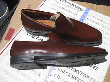 NEW  ECCO 632614 Edinbugh Perf MINK  LEATHER SLIP ON COMFORT SHOES CHOOSE SIZE