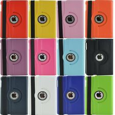 360 Rotating Leather Smart Folio Case Cover Stand For Apple iPad Mini 1 2 3 Slim