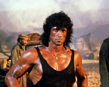 Rambo III Sylvester Stallone First Blood Muscular Pose Poster or Photo