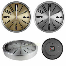 Matte Finishing Face 30cm Aluminium Wall Clock
