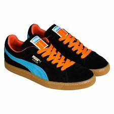 Puma Suede Classic+ Anwar Mens Black Suede Lace Up Sneakers Shoes
