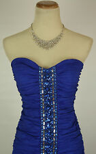 ARDEN B $100 Cobalt Homecoming Dress Evening Cocktail NWT Size  M, L  Juniors