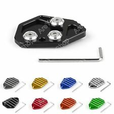 Motorcycle Kickstand Side Stand Plate Pad Base For BMW K1300S 2009 2010 K1300R